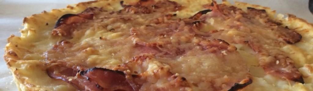Ham Cheese Quiche